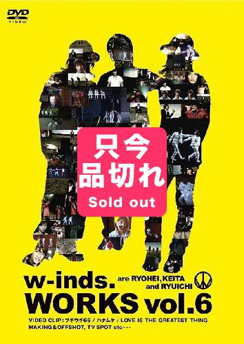 【音楽DVD】【w-inds.】WORKS vol.6